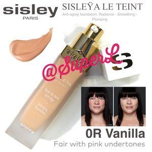 2/$200 SISLEY-PARIS Sisleÿa Le Teint Foundation OR